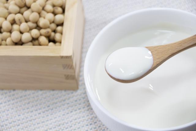豆乳ヨーグルト大豆