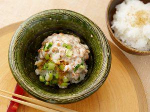 泡立ちおろし酢納豆