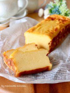 ヘルシー☆水切りヨーグルトのチーズケーキ