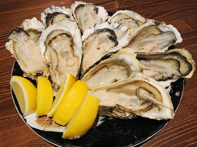 生牡蠣レモン
