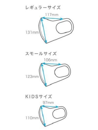 [ピッタマスク]サイズ